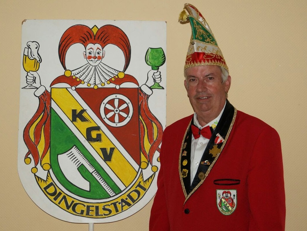 Vizepräsident für Brauchtum und Tradition: Helmut Lendeckel
