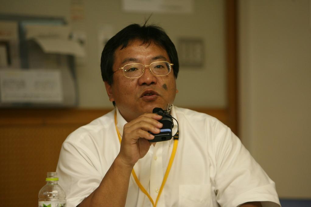 副学術委員長 川内基裕先生