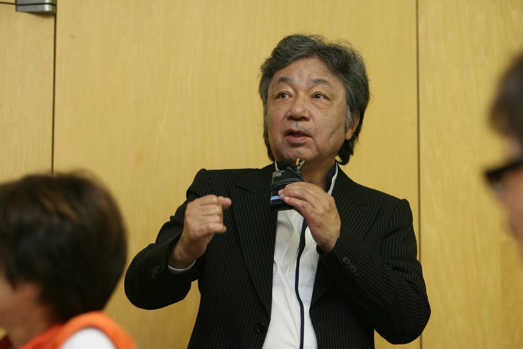 学術委員長 松谷之義先生