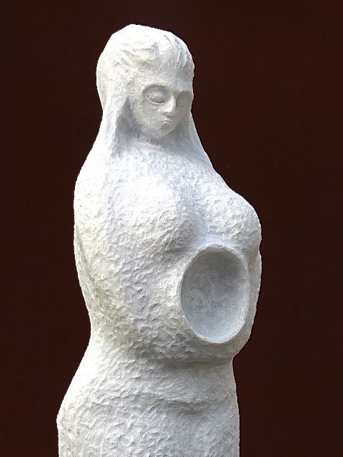 "Carrara Marmor  ""Mutter Erde Nr.2"""