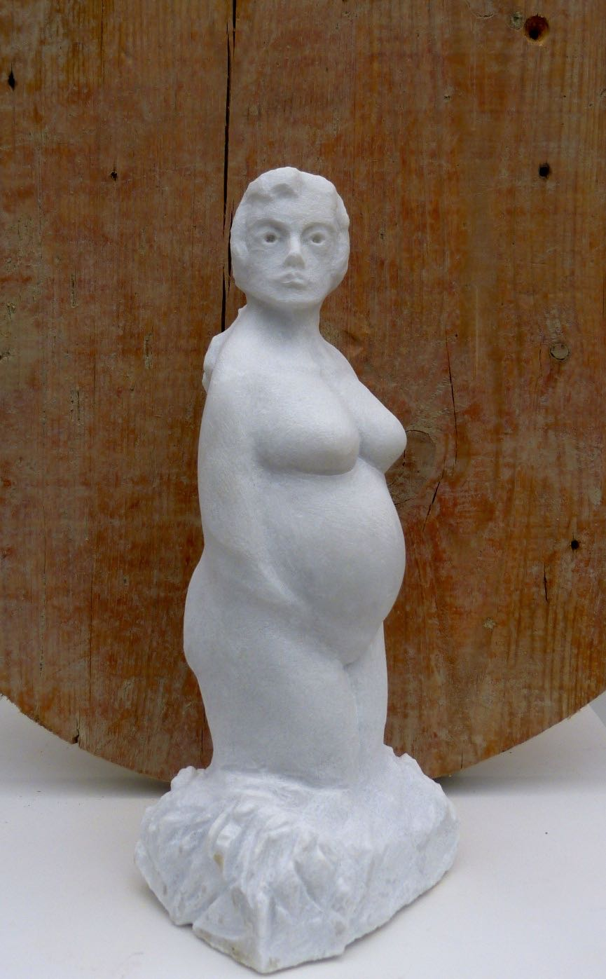 "Carrara Marmor  ""Mutter Erde Nr. 1"""