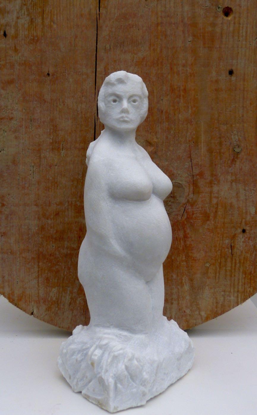 "Carrara Marmor  ""Mutter Erde Nr. 1""      550.-€"