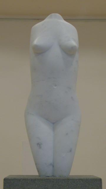 "Carrara Marmor ""Torso""  verkauft"