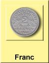 Franc Ausgaben bis 2001
