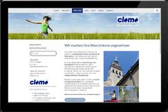 Webseite clomo GmbH Brunnthal