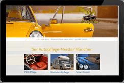 Webseite LEDI Autopflege in München