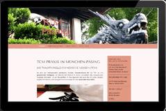 Webseite TCM Praxis München Pasing