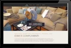 Webseite IDEE E COMPLEMENTI München Solln