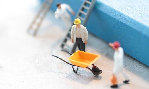 Websites Wolf - Saubere technische Umsetzung - Bauarbeiter