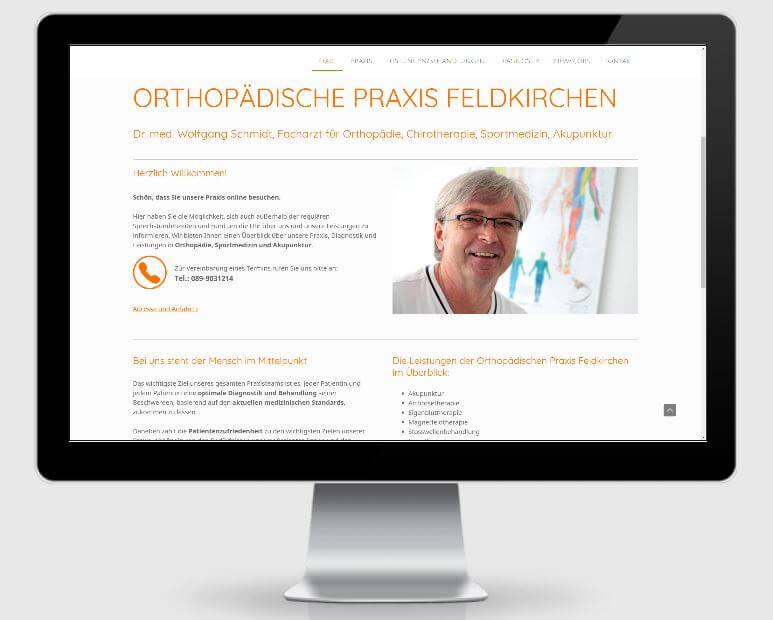 Referenz https://www.orthopaedische-praxis-feldkirchen.de/