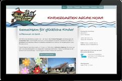 Webseite Kindergarten Arche Noah Feldkirchen