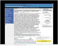 Screenshot Pressemitteilung HBG - Hansen Brandschutz Gesellschaft mbH -Pressemitteilung WS