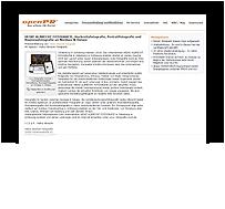 Screenshot Pressemitteilung HBG - Hansen Brandschutz Gesellschaft mbH - OpnenPR