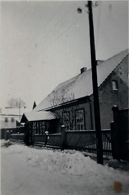 Mein Geburtshaus Lübben-Steinkirchen Laubenstr.1 in den 50-iger Jahren