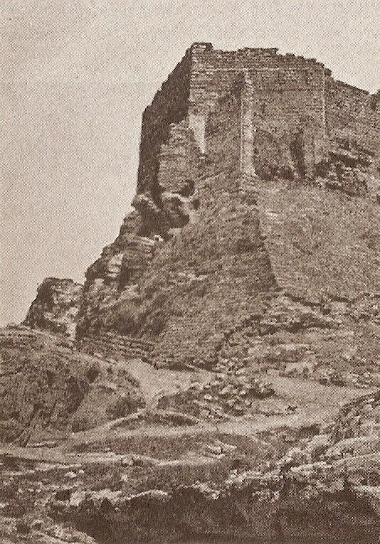 Südostecke der Festung.
