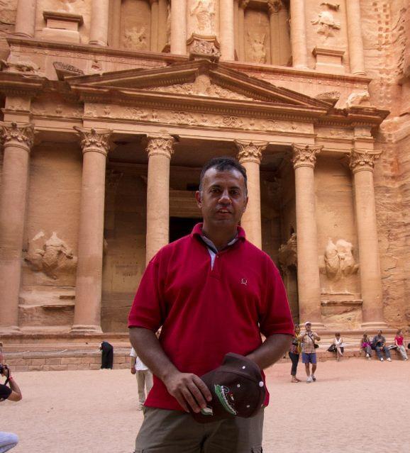 Wael in Petra.