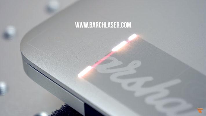 Grabado laser sobre aluminios
