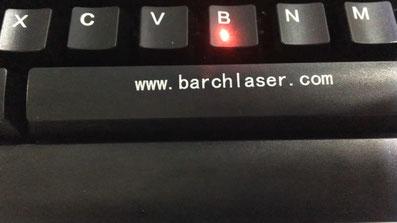 Grabado laser sobre plasticos