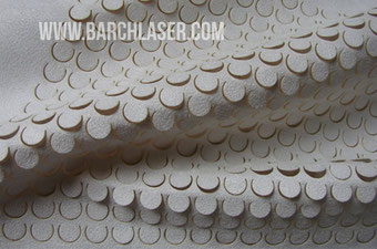 Corte de tela con laser CO2 galvanometro