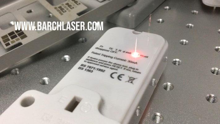 grabadora laser para plastico