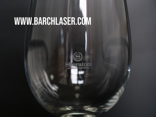 Grabado de vidrio y cristal con maquina laser