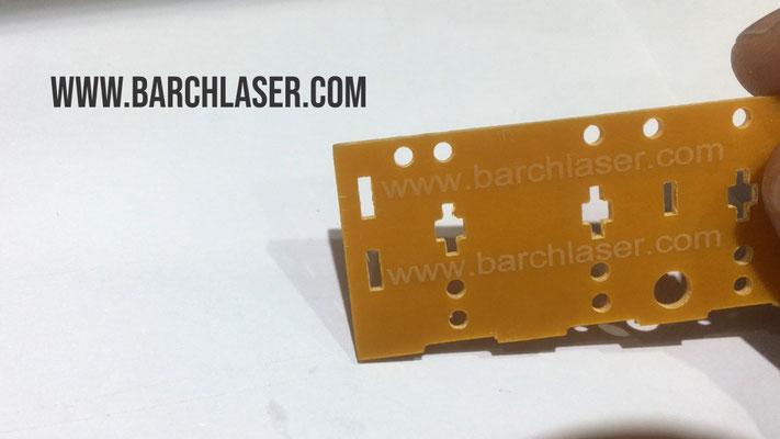 Grabado de plastico con laser