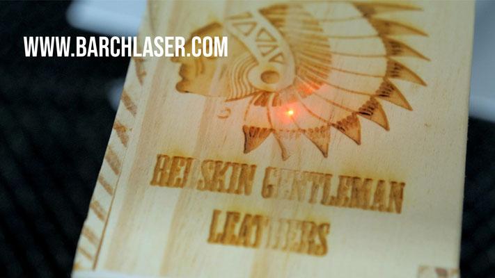 Grabado de madera con laser CO2