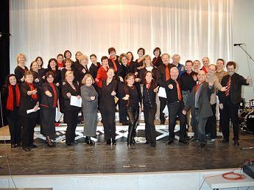 Generalprobe für das Konzert 2003