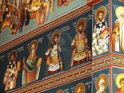 Mural de Iglesia Griega