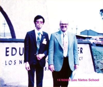 LL USA研修 Los Nietos 小学校校長