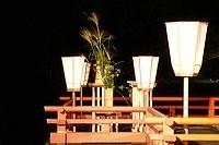 伊勢神宮・観月祭に供えられた「秋の七草」