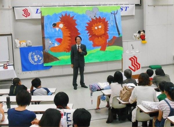 2013.10.06 (Sun) at LL スピーチコンテスト