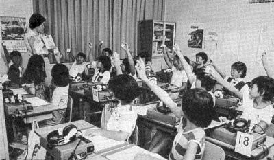 (財)日本LL教育センター・目白本部講師時代のYoko先生