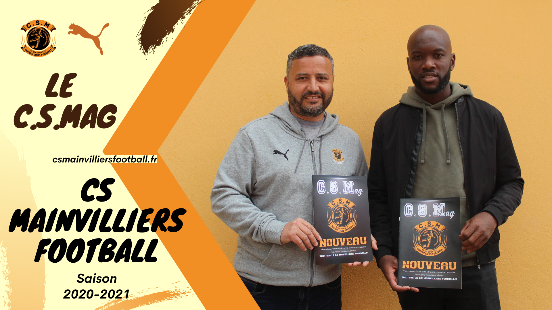 Le C.S.Mag est disponible 😍 - CS Mainvilliers Football