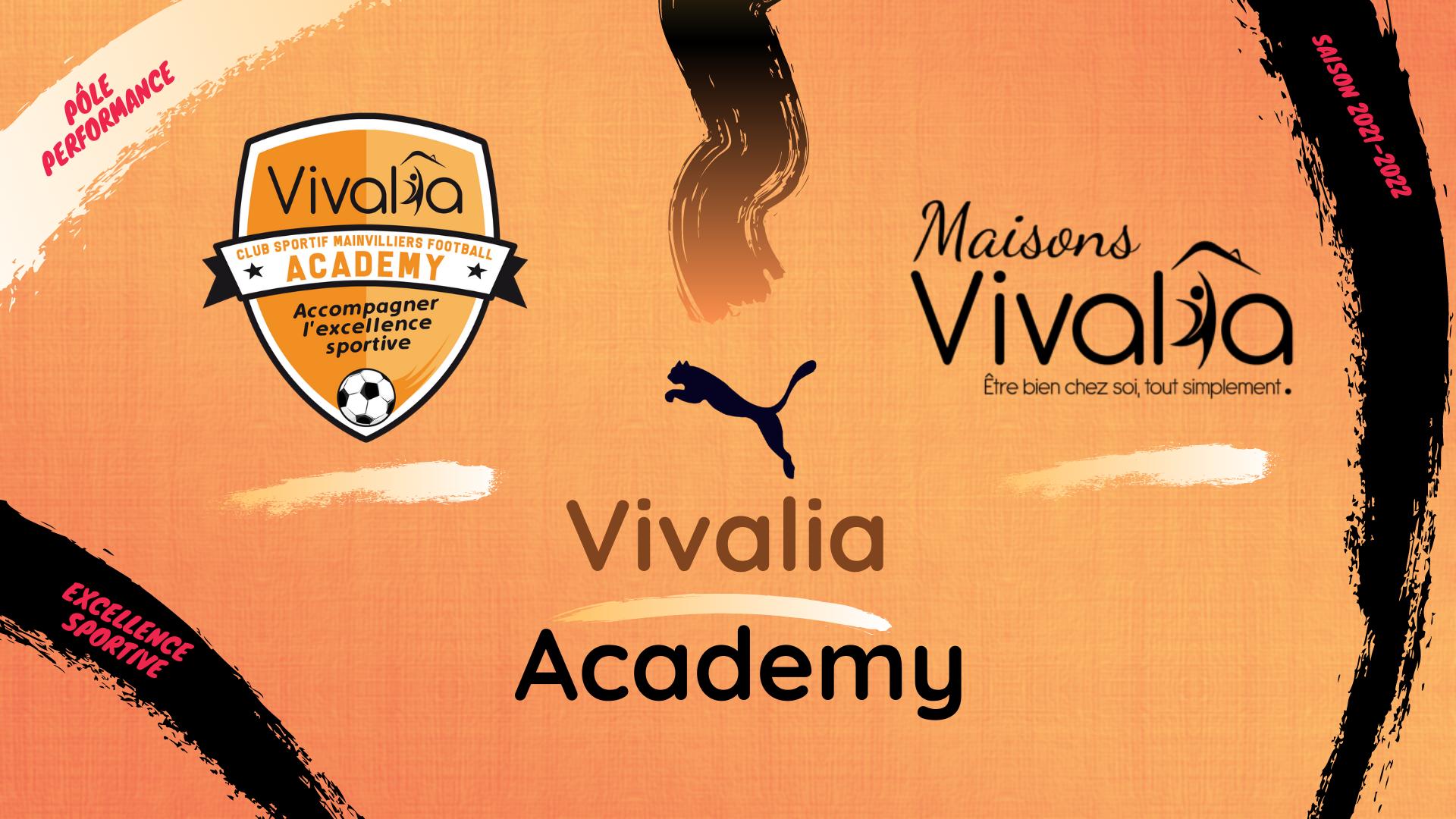 Lancement du projet Vivalia Academy - CS Mainvilliers Football