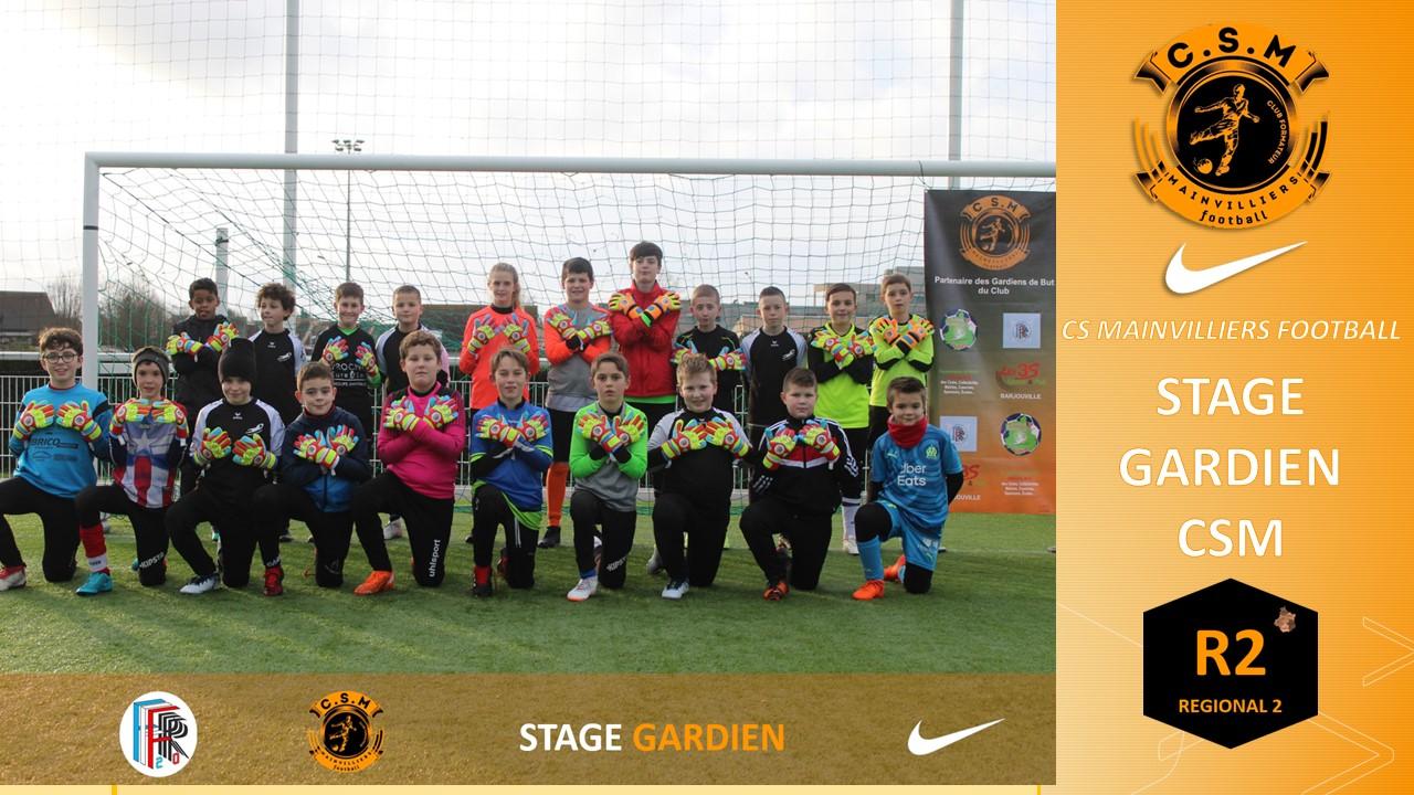 Stage Gardien - CS Mainvilliers Football