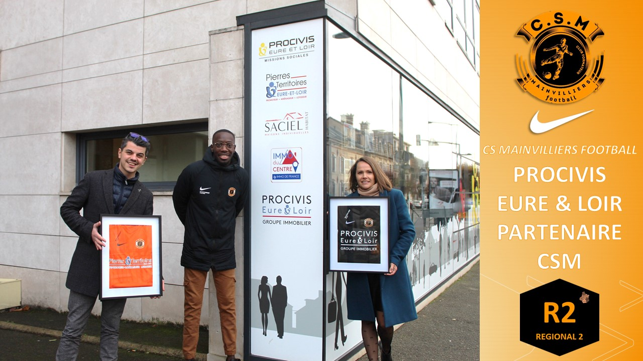 Procivis Eure & Loir : Partenaire du CS Mainvilliers Football