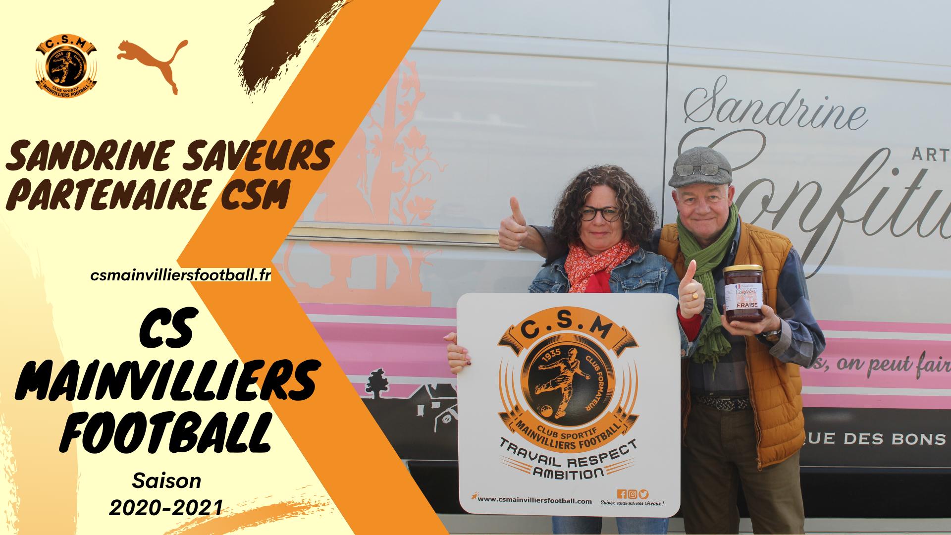 Sandrine Saveurs : Partenaire du CS Mainvilliers Football
