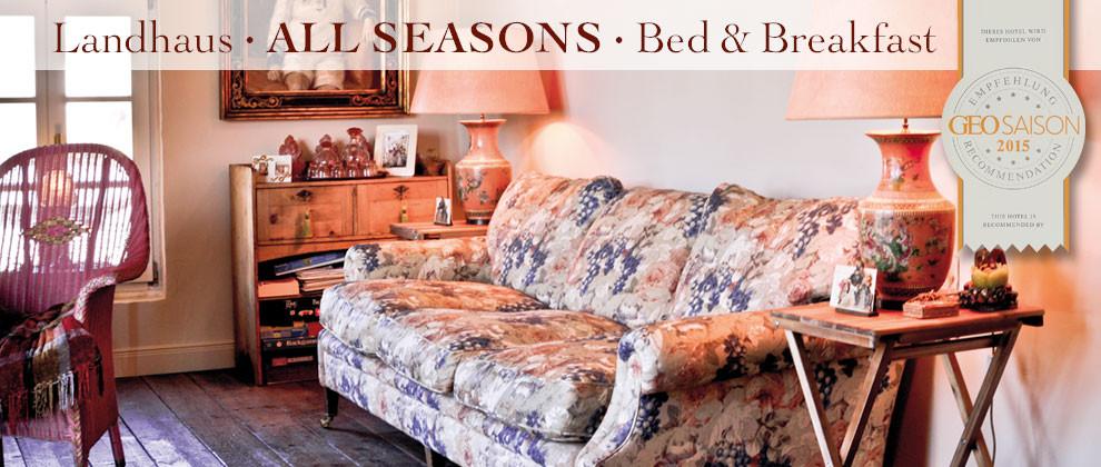 B&B Eifel Cottage All Seasons
