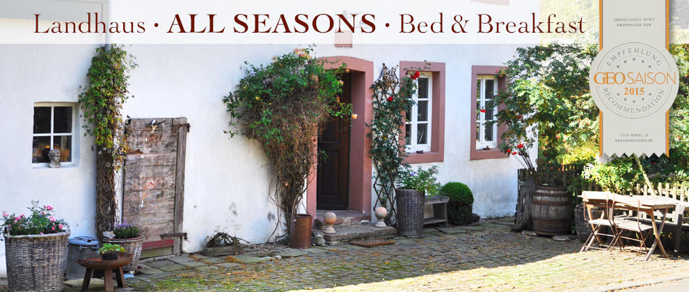 Eifel Landhaus All Seasons B&B