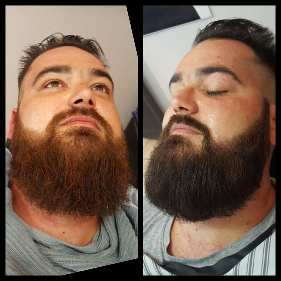 avant et après BLEND par AMERICAN CREW