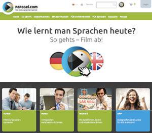 Papagei.com Webseite
