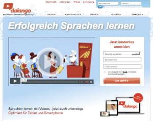 Webseite von dalango