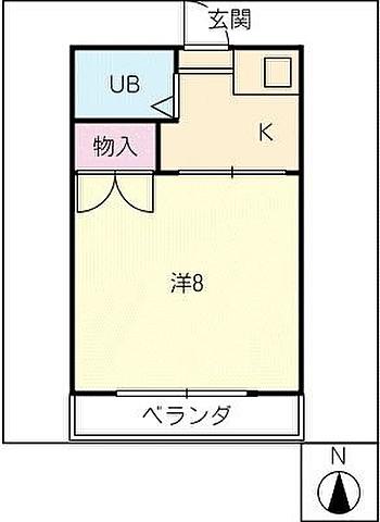 キッチンとリビングの分かれたタイプ