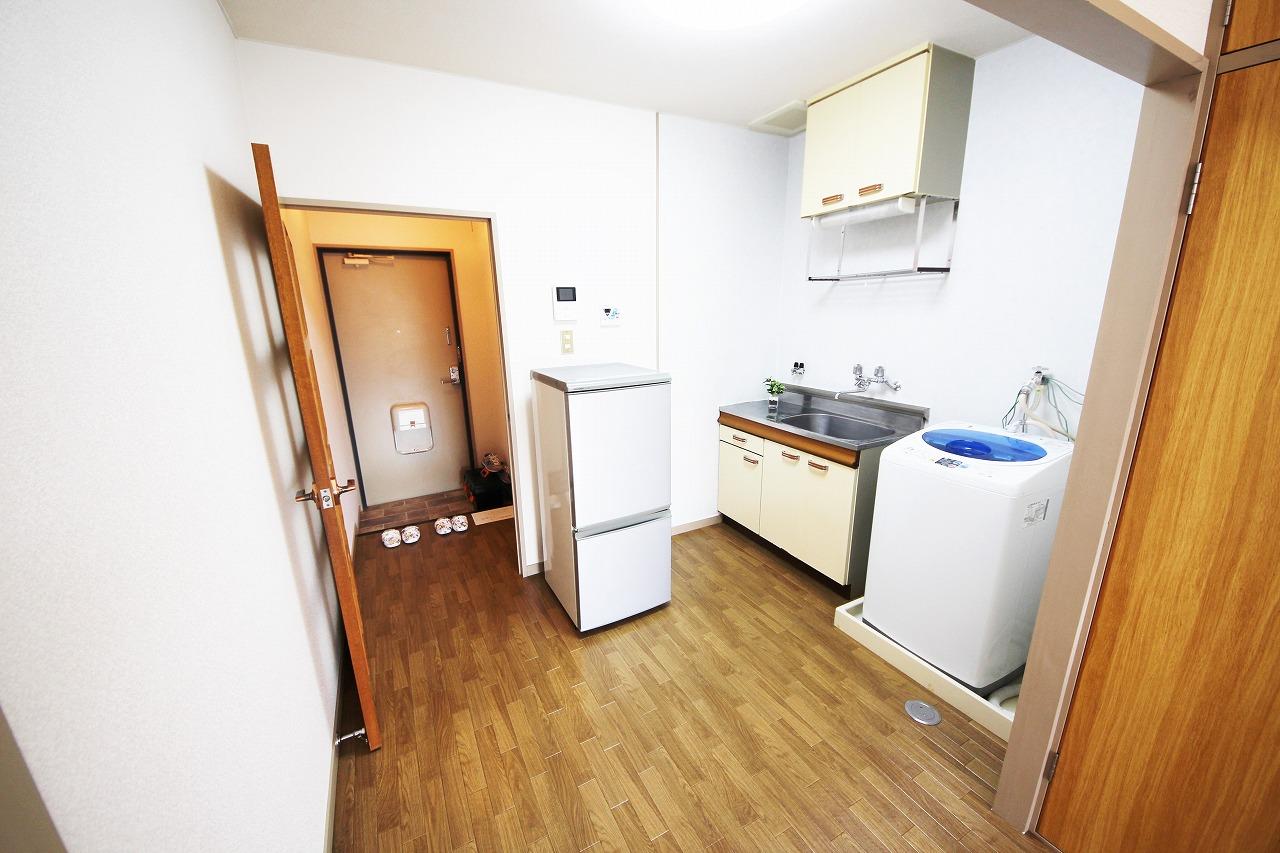 冷蔵庫、洗濯機付き