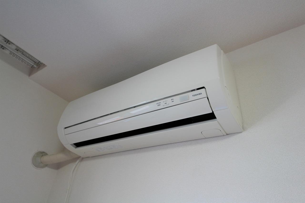 エアコンは2台ついています