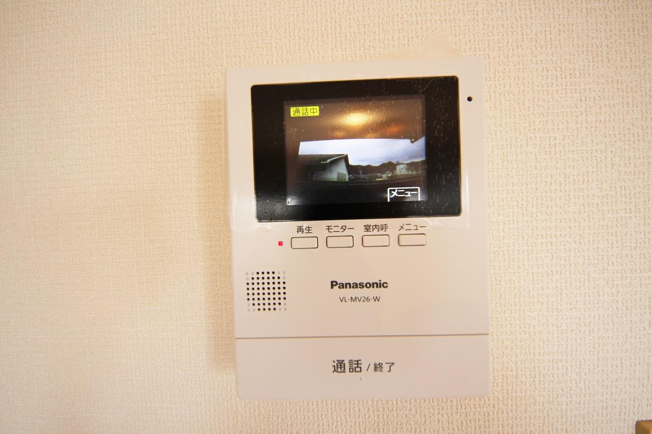 TVモニターホン付きで安心のセキュリティ