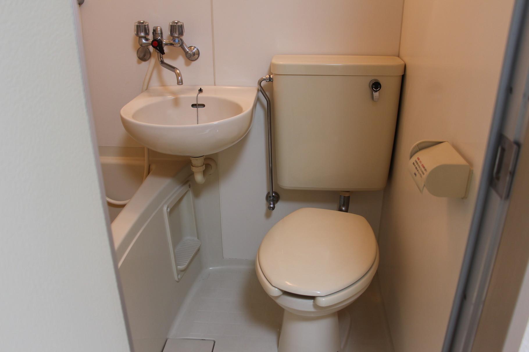 掃除のしやすいトイレです