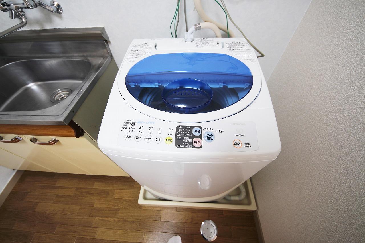 洗濯機で快適な暮らしを