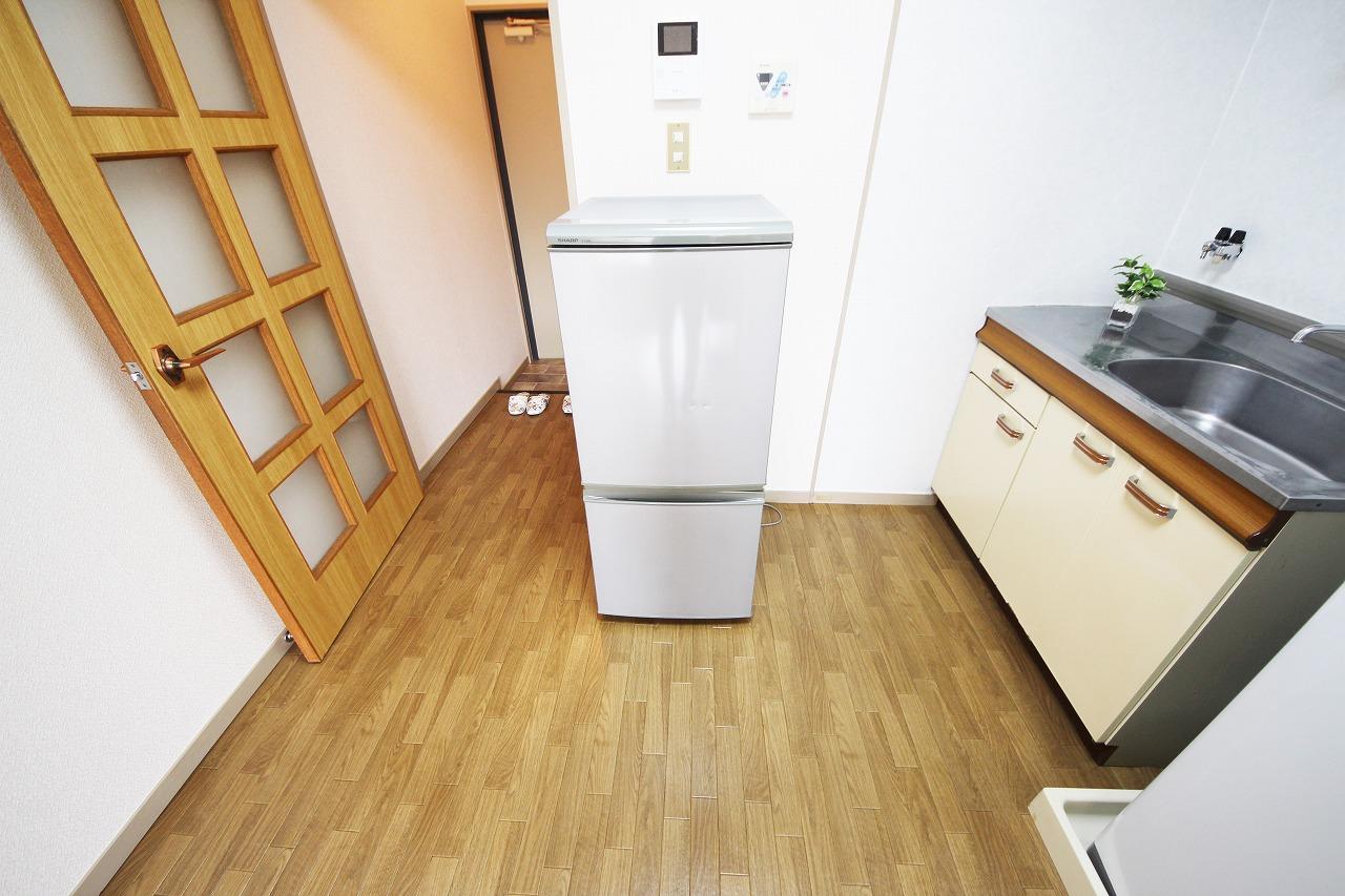 キッチン、冷蔵庫で料理も楽しみましょう